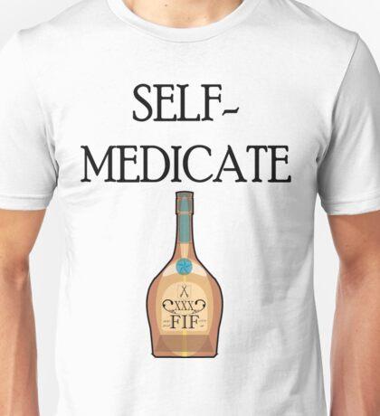 self medicate Unisex T-Shirt