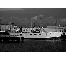 Working Harbour Photographic Print