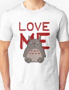 Valentine's Totoro Unisex T-Shirt