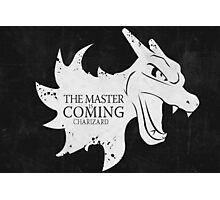 Master is Coming - Charizard Photographic Print