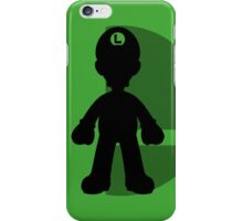 Smash Bros - Luigi iPhone Case/Skin
