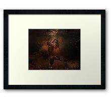 pearl saver Framed Print