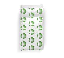 Smash Logo - Green Burst Duvet Cover