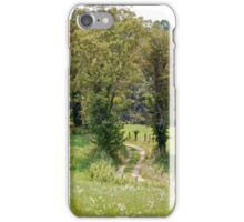 Old Farm Road iPhone Case/Skin