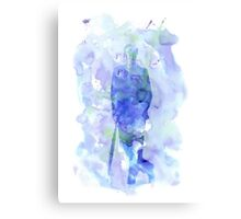 mycroft holmes - watercolor splatter Canvas Print