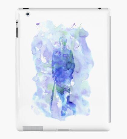 mycroft holmes - watercolor splatter iPad Case/Skin