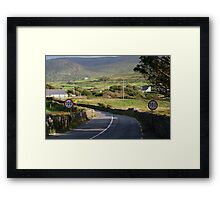 waterville kerry Framed Print