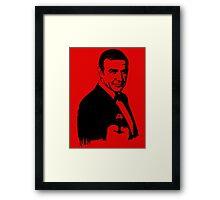 Licensed to kill. Framed Print