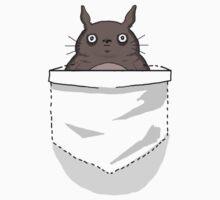 Creepy Pocket Totoro by FireflyMoon
