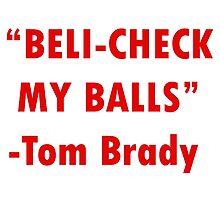 Patriots Brady Belichick by nyrhipster9