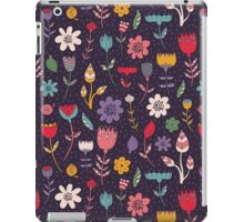 Colorful Abstract Floral Pattern iPad Case/Skin
