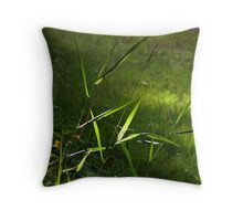 The Production of Chlorophyll Throw Pillow