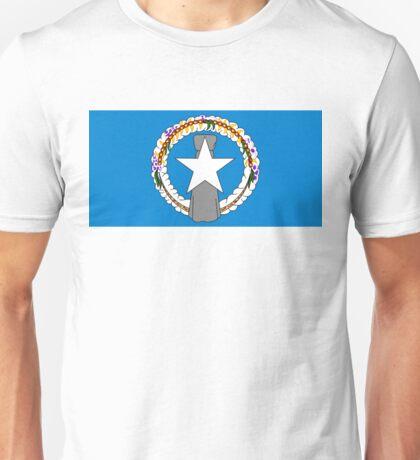 flag of Northern Mariana Islands Unisex T-Shirt
