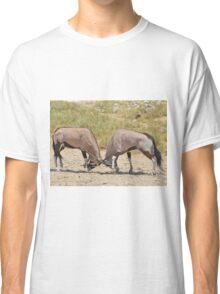 Gemsbok Dominance - Fighting for Rights Classic T-Shirt
