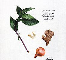 The Aromatics by createdtocreate