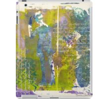 Lady in Blue iPad Case/Skin