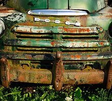 Old Dodge Truck by Courtney Jean McCoy