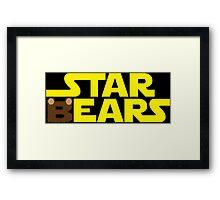Star Bears Framed Print