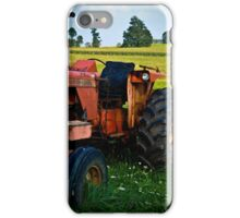 Old Allis-Chalmers Tractor iPhone Case/Skin