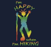 Happy Hiking Tee by Jan Landers