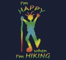 Happy Hiking Tee by Jan Landers