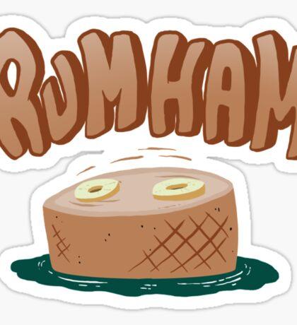 Rumham, It's always sunny in philadelphia fan art Sticker