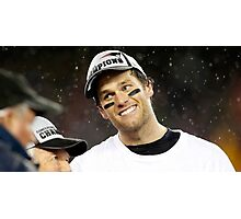 Tom Brady Photographic Print