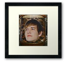 The Face of Bo Framed Print
