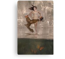 butterfly lover Canvas Print