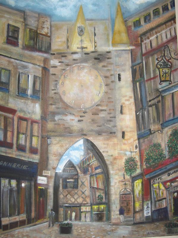 Cityscape European      by Rick  Todaro