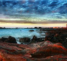 Dampier: Powerstation and Ship Load Out. by Gareth Chalklen