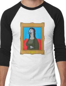 Mona Pigeon Men's Baseball ¾ T-Shirt