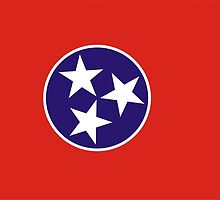 tennessee state flag by tony4urban