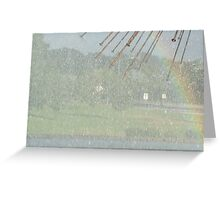 RAIN~BOW  Greeting Card