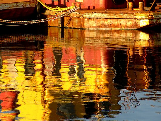 Harbour Reflections by Lee Donavon Hardy