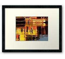 Harbour Reflections Framed Print