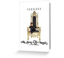 Fabolous - The Young OG Project Greeting Card