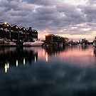 St Kilda Marina. by Cathy Middleton