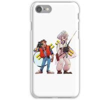 Back to the Future Past iPhone Case/Skin