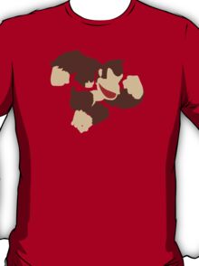 Donkey Kong w/ Color Tie T-Shirt