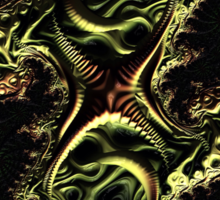 Quadramorph  Sticker