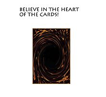 YU-GI-OH heart if the cards Photographic Print