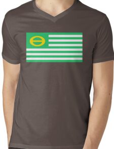 us ecology flag Mens V-Neck T-Shirt