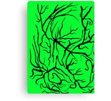 The Woods Are Full of Creepy Trees Canvas Print