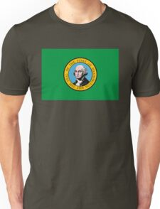 Washington Flag Unisex T-Shirt