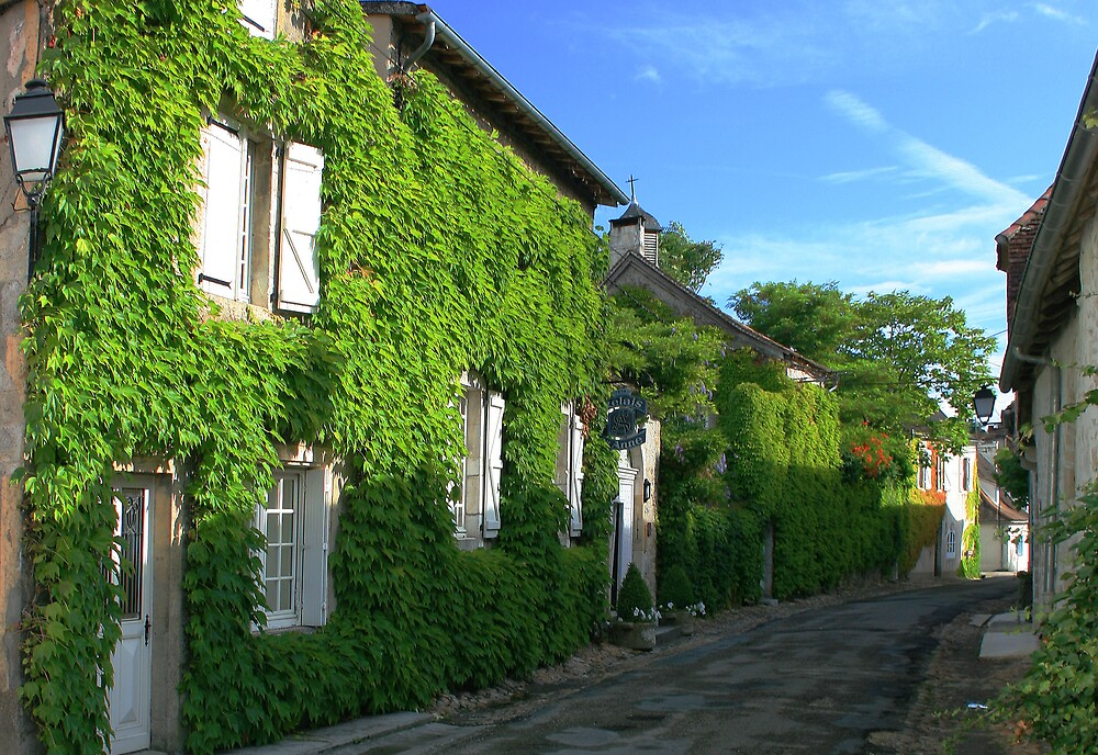 Village in the Dordogne by William Mason
