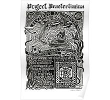 Astrophilus & Xenologia Print - Project Praeterlimina Poster