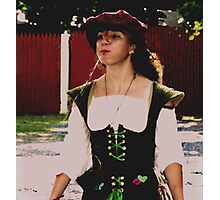 Spitting Image of a Wench Photographic Print