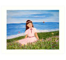 Butterfly Beach Art Print