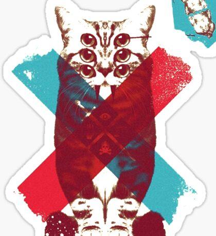 Catlicious Sticker